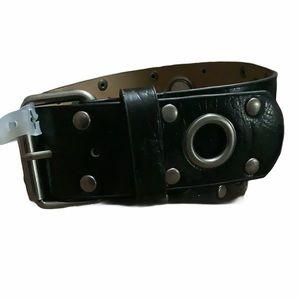 No Boundaries belt black grommets NWT